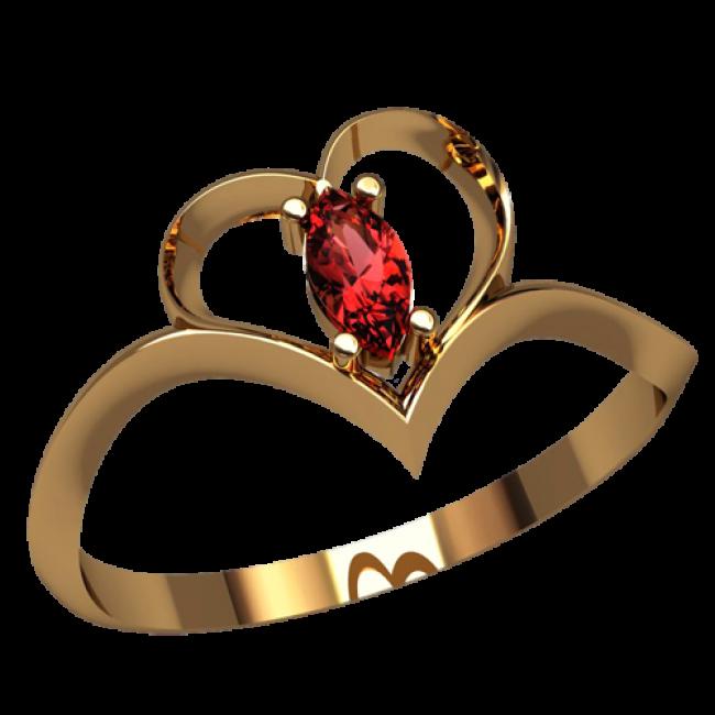 Женское кольцо 2518