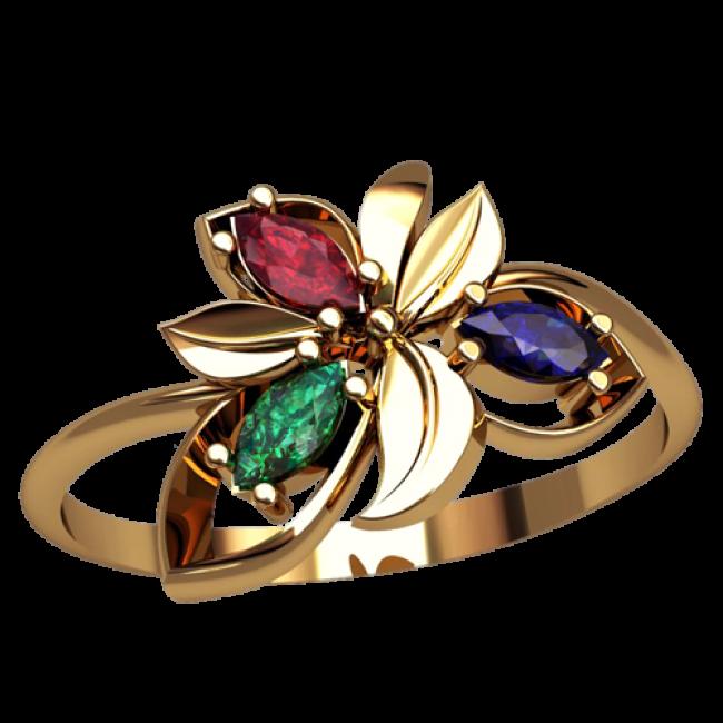 Женское кольцо 2519