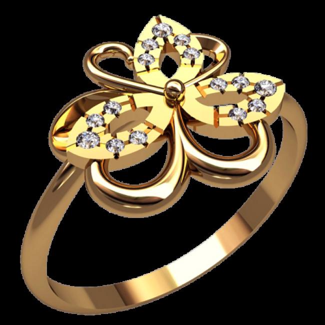 Женское кольцо 2521