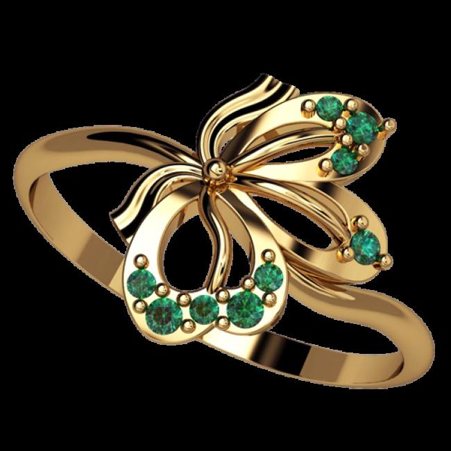 Женское кольцо 2523