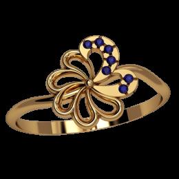 Женское кольцо 2524
