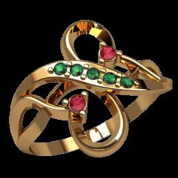 Женское кольцо 2525