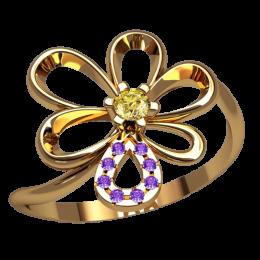 Женское кольцо 2526