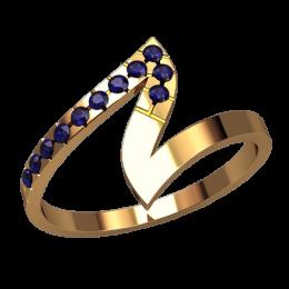 Женское кольцо 2529