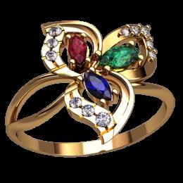 Женское кольцо 2532