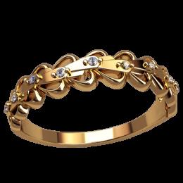 Женское кольцо классическое 2533