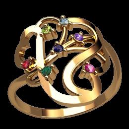 Женское кольцо 2535