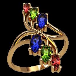 Женское кольцо 2536