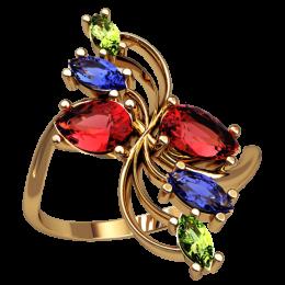 Женское кольцо 2537