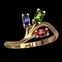 Женское кольцо 2544