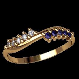 Женское кольцо классическое 2548