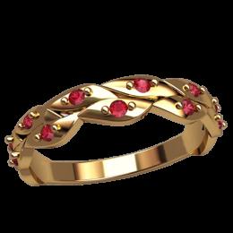 Женское кольцо классическое 2549