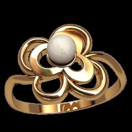 Кольцо с жемчугом 2550