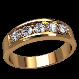 Женское кольцо классическое 2551