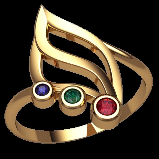 Женское кольцо 2552