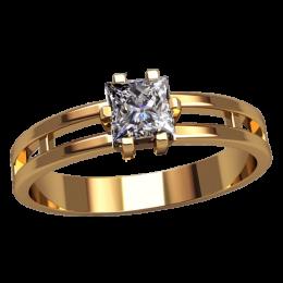 Женское кольцо 2554