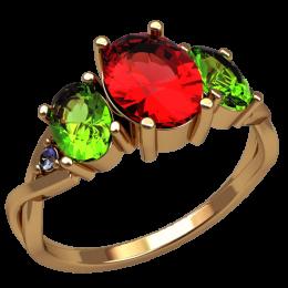 Женское кольцо 2556
