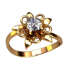 Женское кольцо 2557