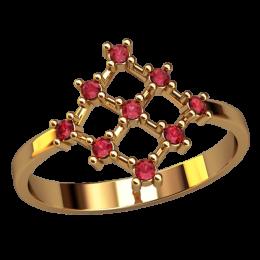 Женское кольцо 2558