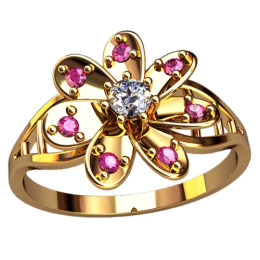 Женское кольцо 2560
