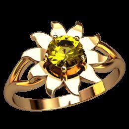 Женское кольцо 2562