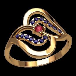 Женское кольцо 2564