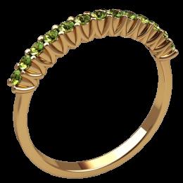 Женское кольцо классическое 2571