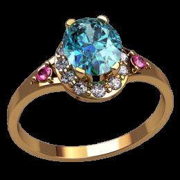 Женское кольцо 2574