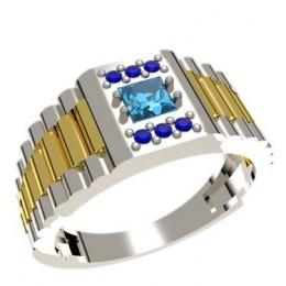 Мужское кольцо 3013
