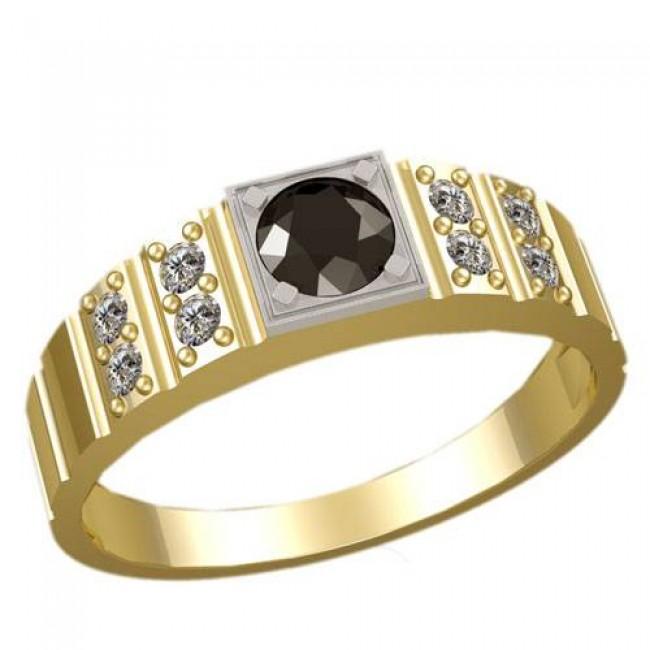 Мужское кольцо 3018