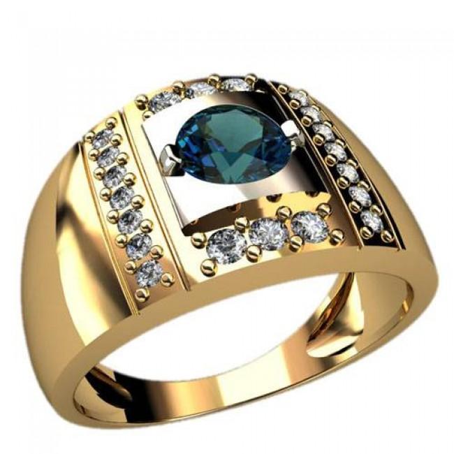 Мужское кольцо 3023