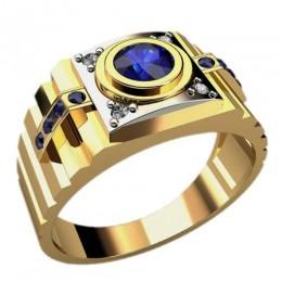 Мужское кольцо 3027
