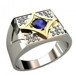 Мужское кольцо 3028