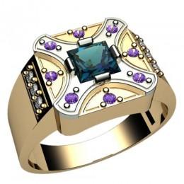 Мужское кольцо 3032