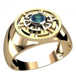 Мужское кольцо 3039