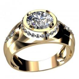 Мужское кольцо 3040