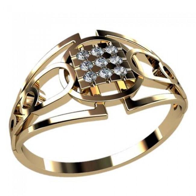 Мужское кольцо 3041