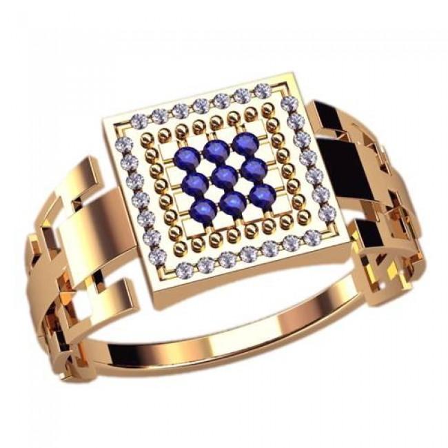 Мужское кольцо 3046