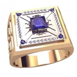 Мужское кольцо 3049