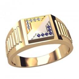Мужское кольцо 3050