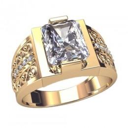 Мужское кольцо 3052