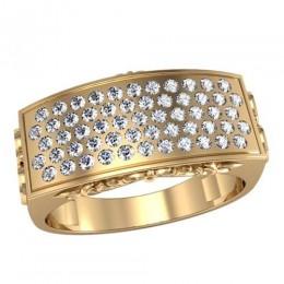 Мужское кольцо 3054