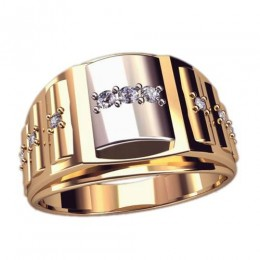 Мужское кольцо 3058