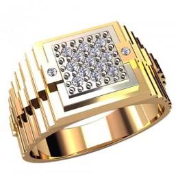 Мужское кольцо 3060