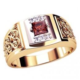 Мужское кольцо 3061