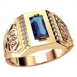 Мужское кольцо 3065