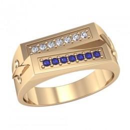 Мужское кольцо 3066