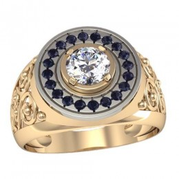 Мужское кольцо 3069