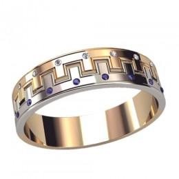Женское кольцо классическое 3075