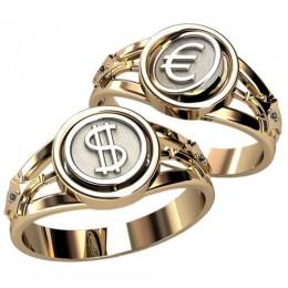 Мужское кольцо 3076